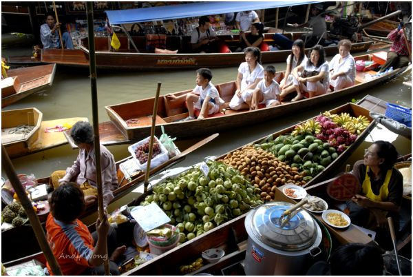Floating Market -Thailand #2
