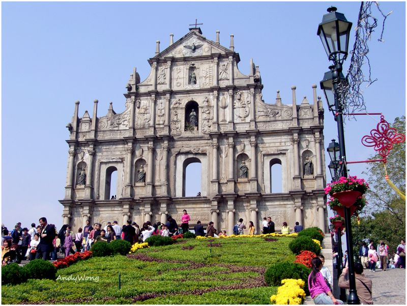 Ruins of St.Paul, Macau, China
