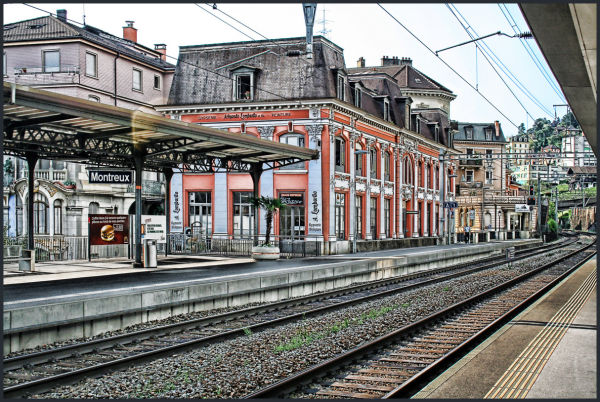Montreux -Railway Station