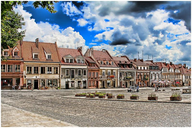 Sandomierz Central Square