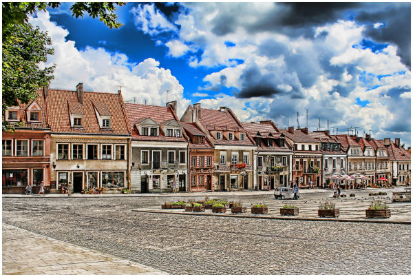 Sandomierz Central Square
