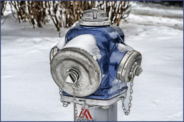 A hydrant