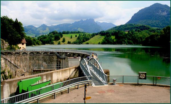 Swiss dam