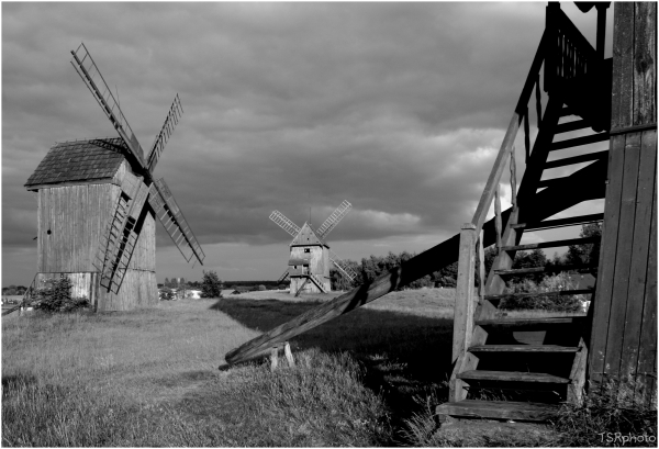 Windmills 2 1/2 (next to stairs)