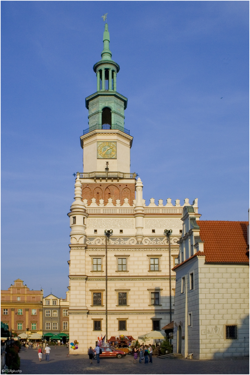 Poznań - Town hall (west side)