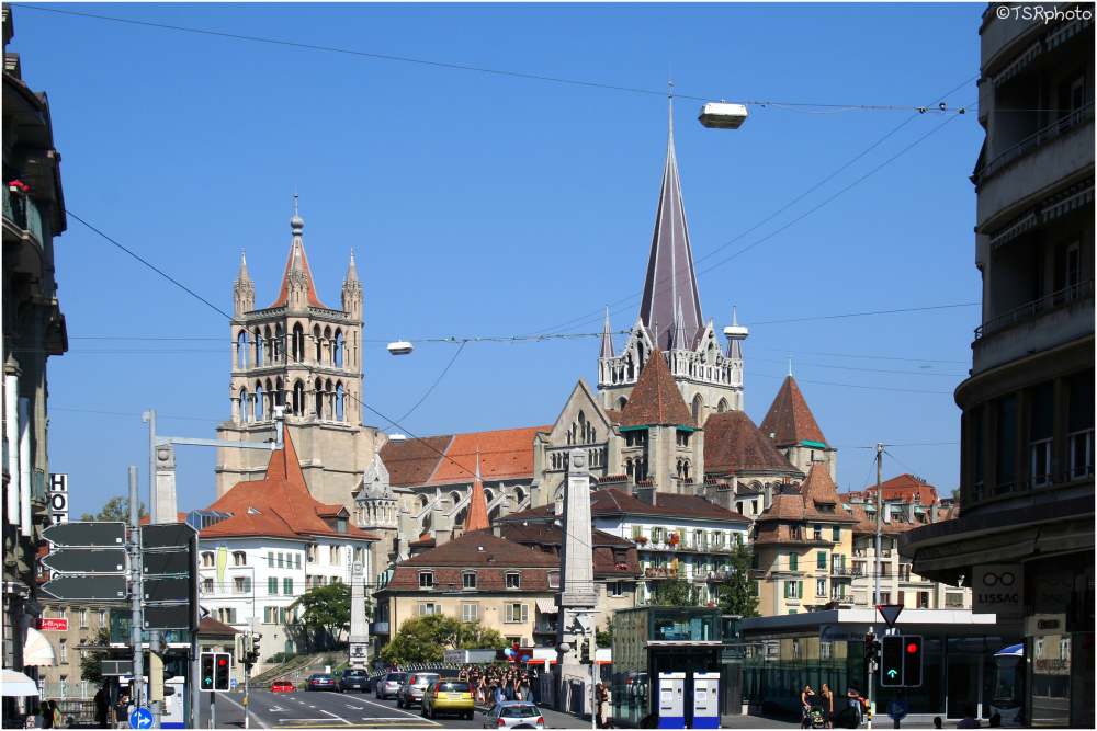 Lausanne -  Cathedral