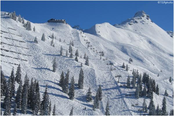 Alps Snow Montafon Austria