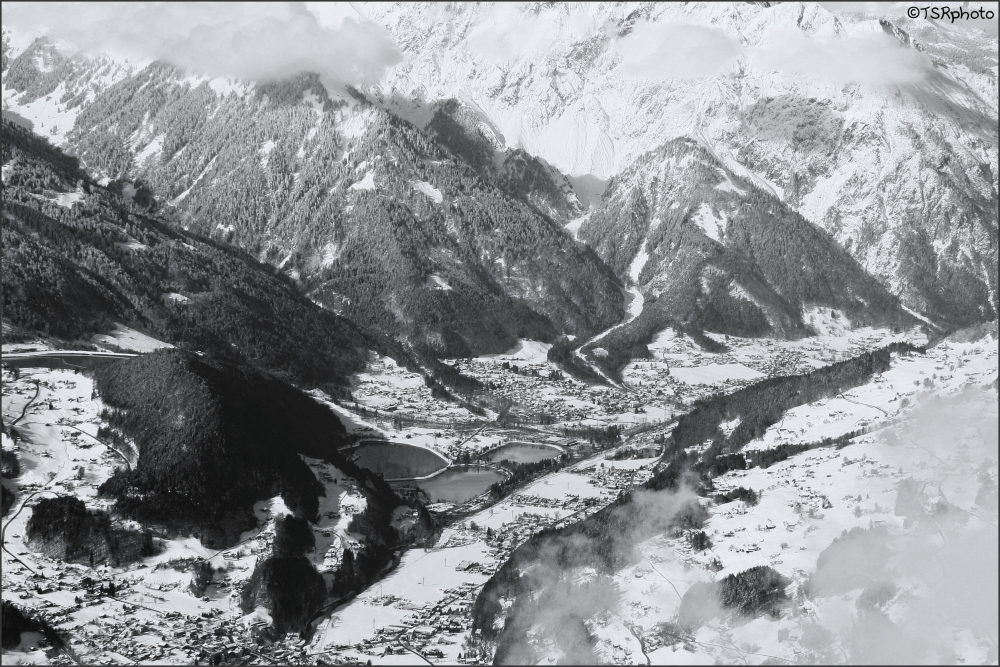 Snowy Montafon Valley