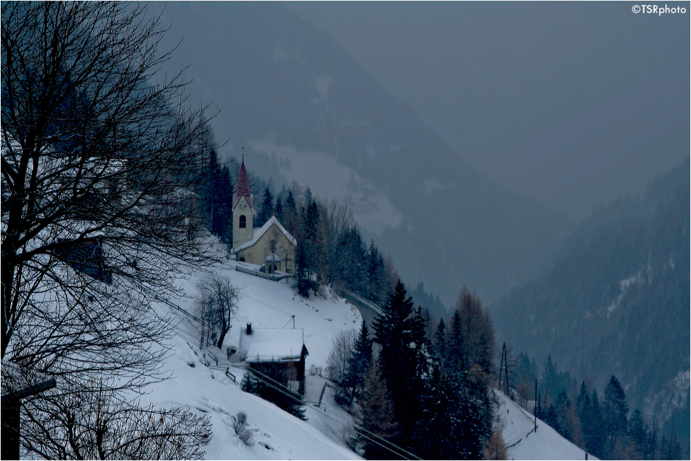 Chapel in Alps