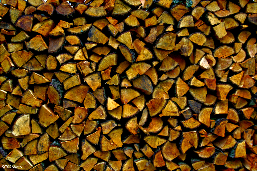 Wood's mosaic
