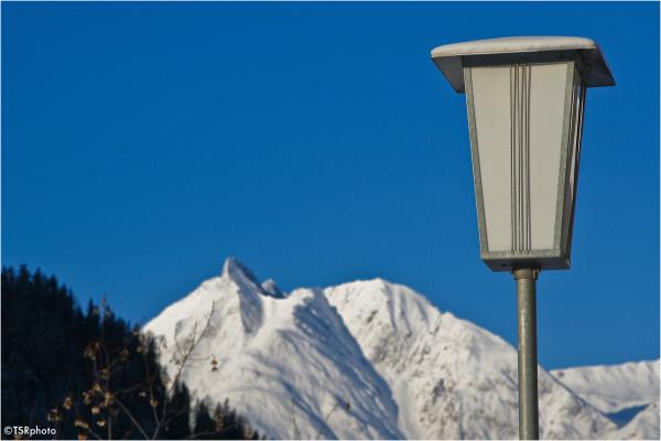 Lamp in Alps