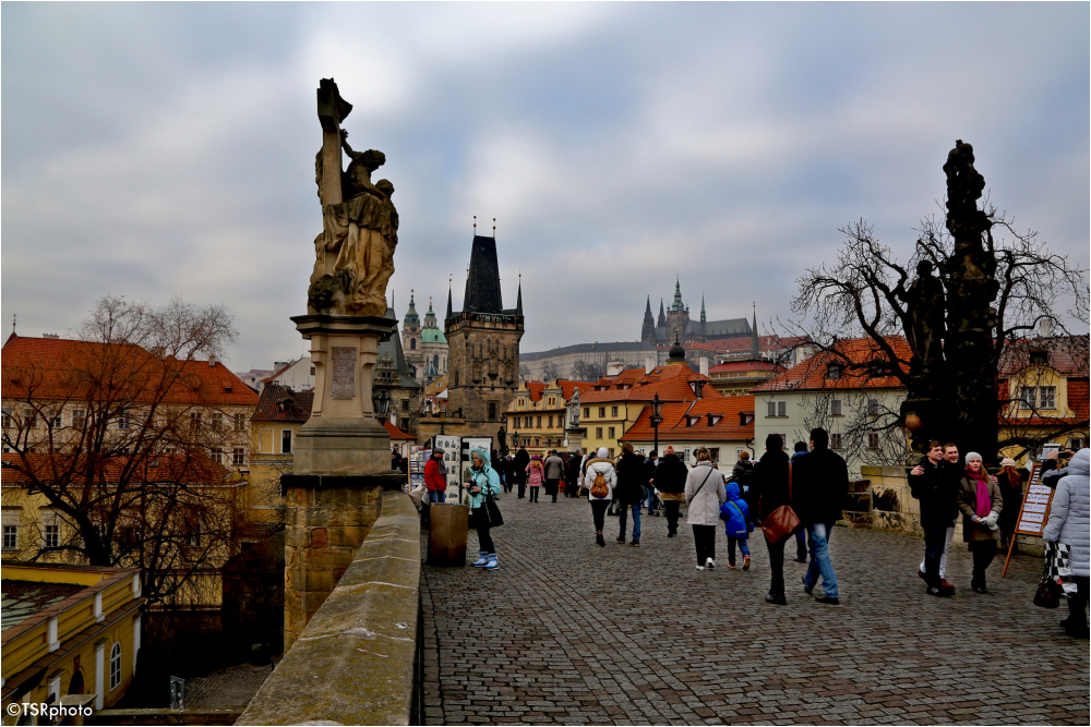 On the Charles Bridge