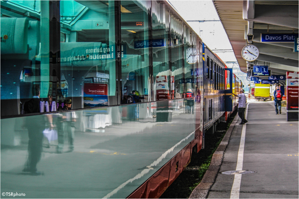 Davos Platz Railway Station