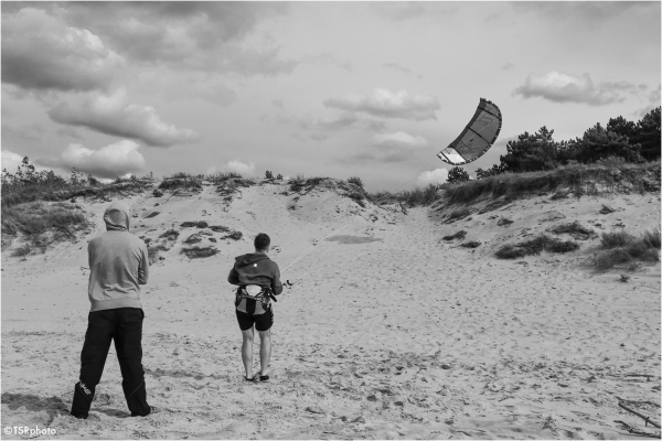 Kitesurfing excercices