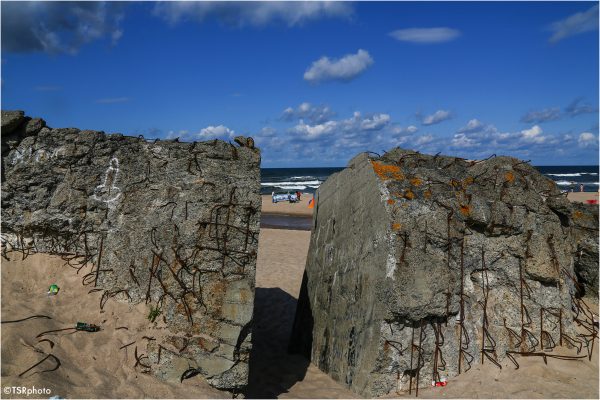 Bunker on the beach