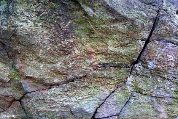 Wrinkles of stone