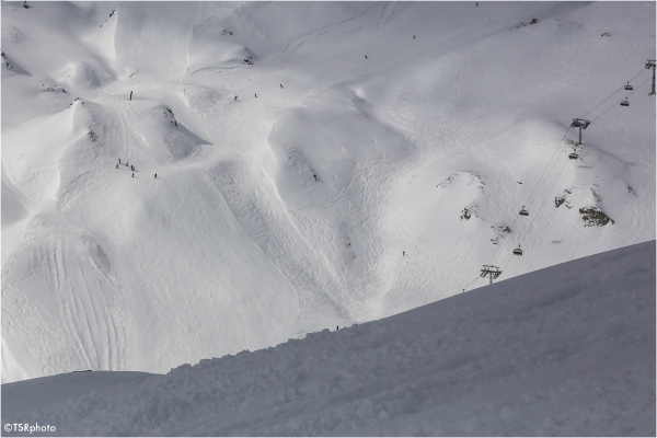 Space for skiers