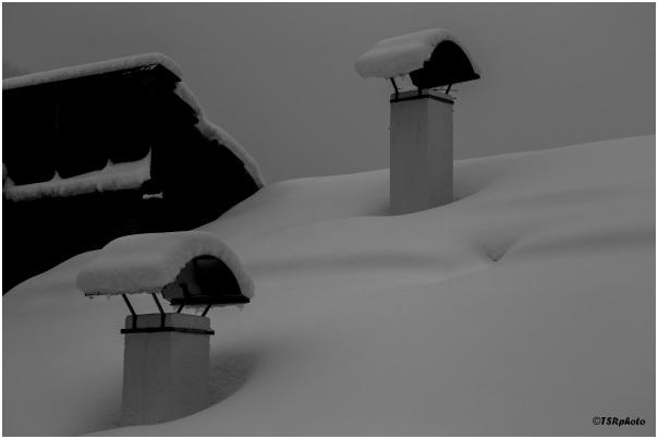 Under snow