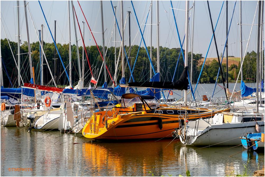 Sailng boats