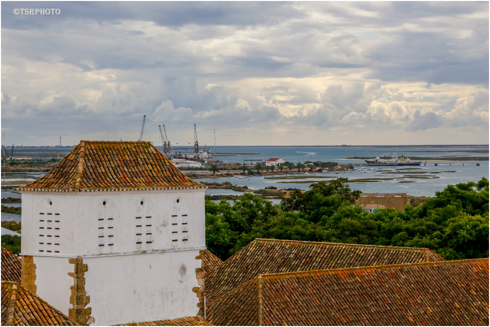 View over the Harbor - Faro