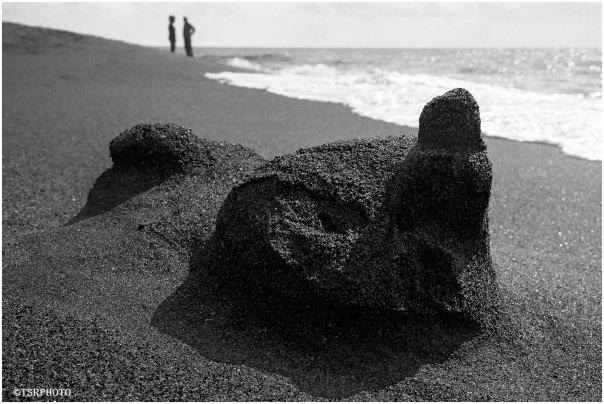 Beach conversation