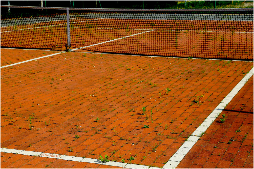 Ecological Tennis Court