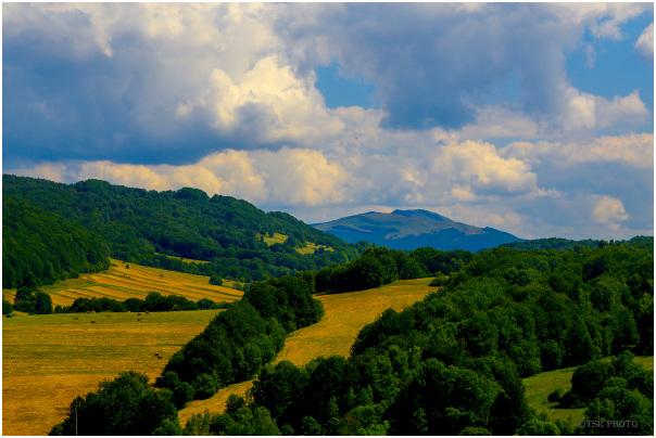 Mountain Range - Bieszczady