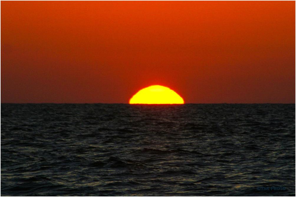 Sunset - bloody sky