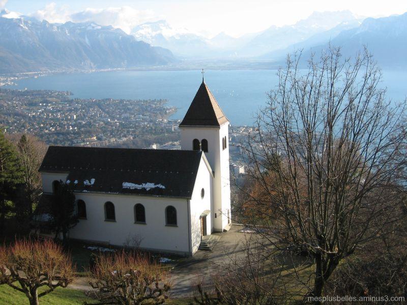 la chapelle du Mont-Pélerin