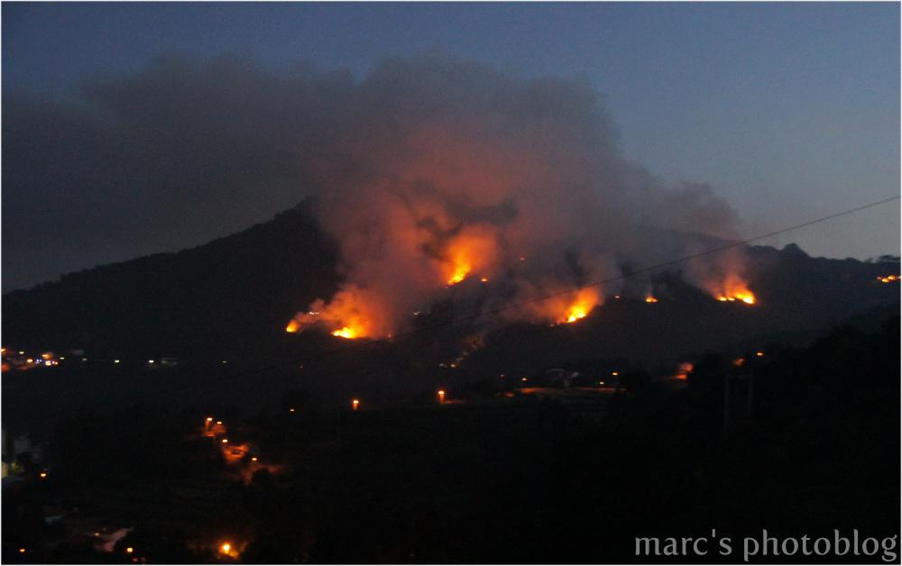 La montagne en feu II