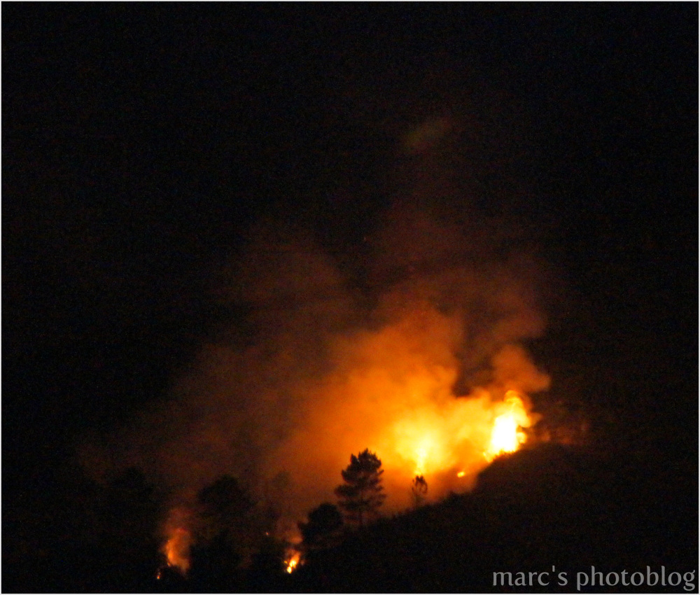 La montagne en feu III