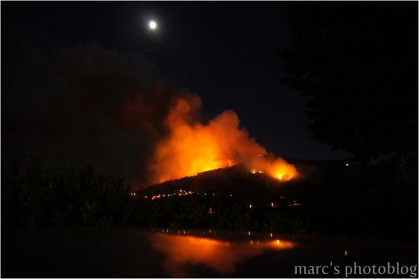 La montagne en feu IV