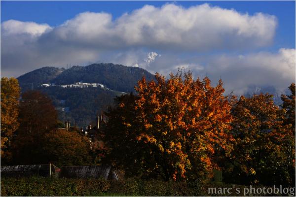 Une journée en automne