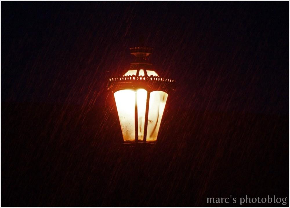 il pleut dru