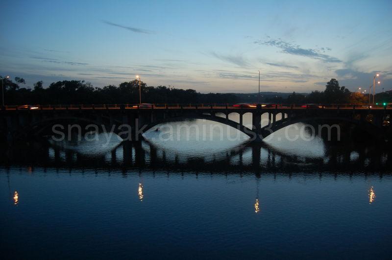 Bridges across the water