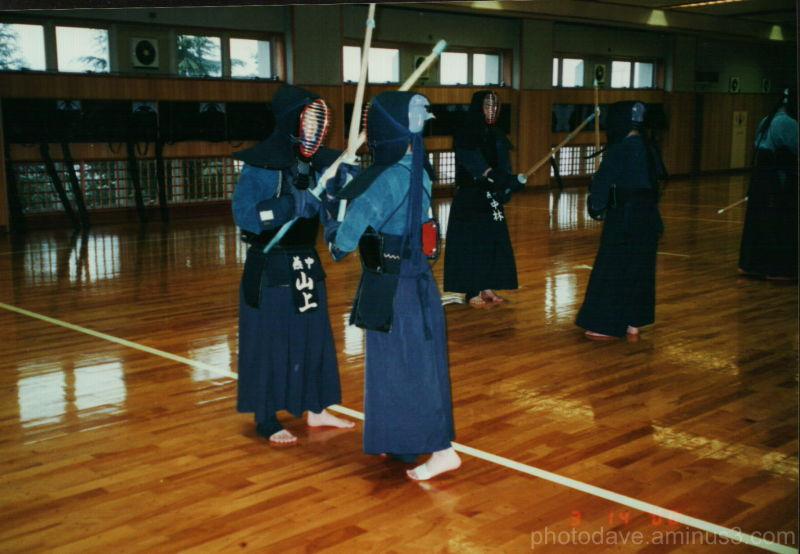 Kendo Practice in Tusbame