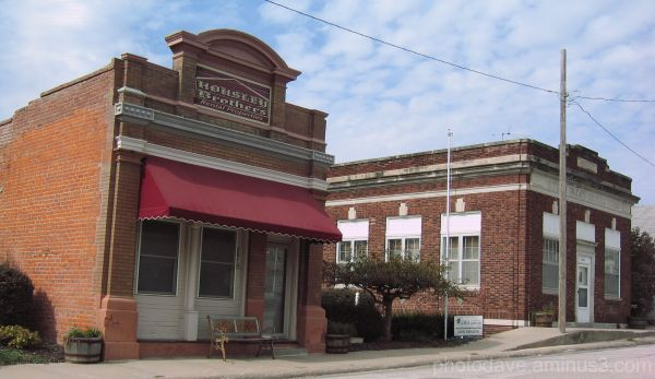 Small Town Architectural Charm