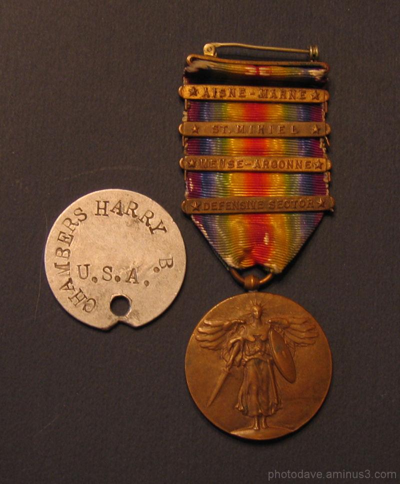 My Grandad's WW1 Medals