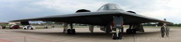 B-1 Bomber on Display