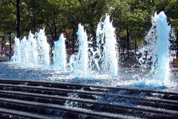 Pillars of Water