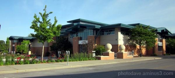 Beautiful Council Bluffs Library