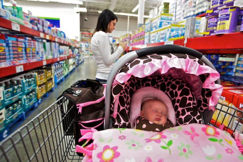 Shopping Kart Baby