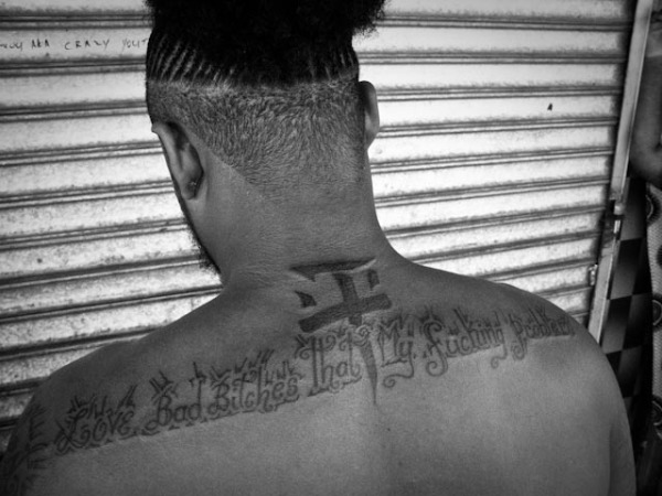 Young man with tatoo II