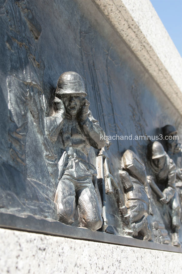 Engraving on World War 2 Memorial in DC