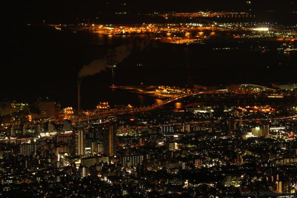 Night view from Mt. Rokko