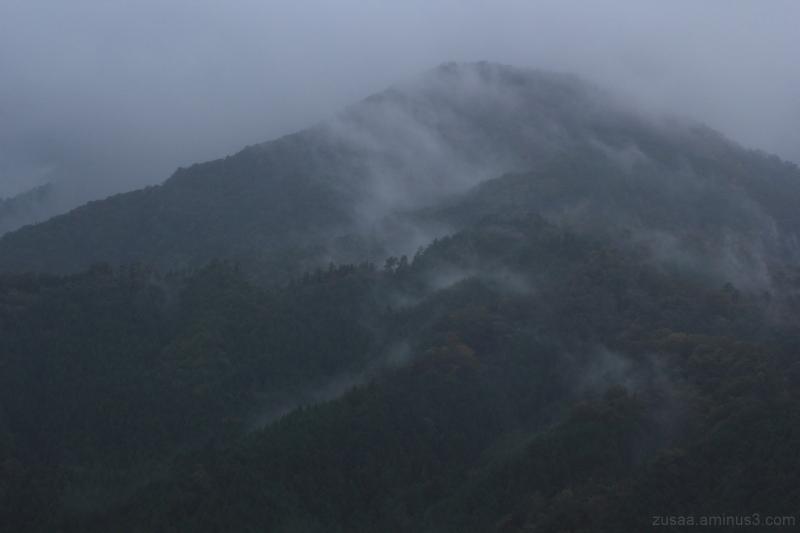 Foggy rain
