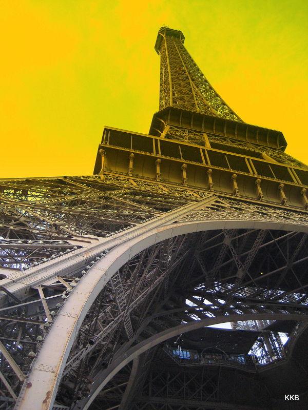 La Tour Eiffel, Février 2010