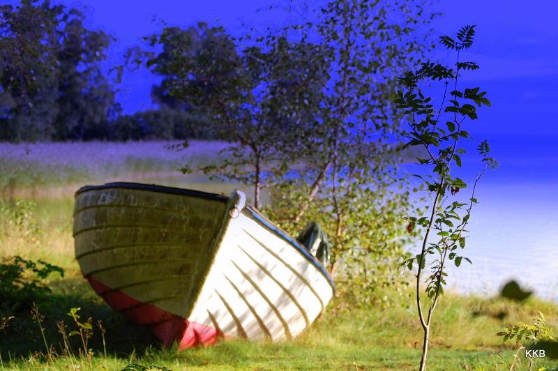 August 2010, Lake Vänern