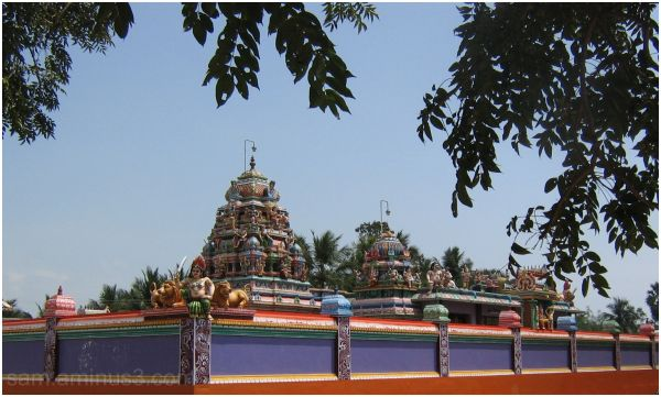 A Temple along East coast road