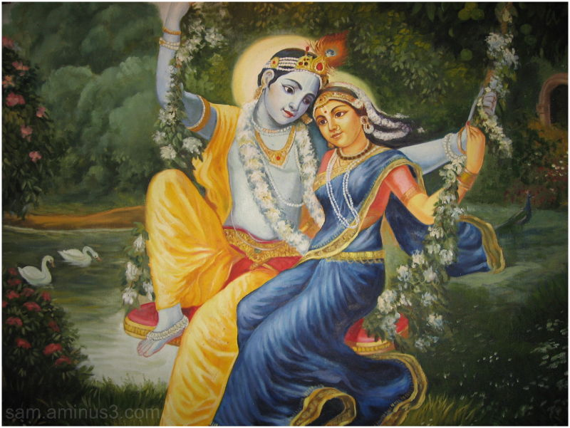 Radha krishna wall painting 1 art design photos kt for Mural radha krishna